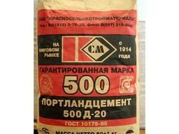 Цемент М500 Д20 25кг