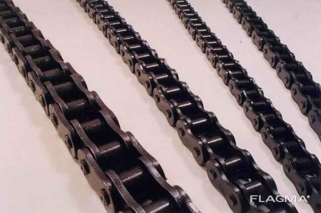 Цепи тяговые ПР грузовые и другие от ПР 8 до ПР 63,5