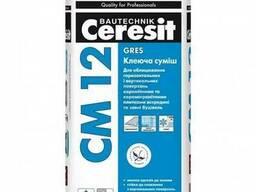 Ceresit CM 12 Керамогранит. Клей для крепления напольной пли