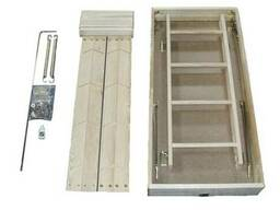 Чердачная лестница FAKRO SMART LWS-M 70x120см / 2.8м