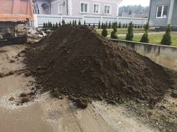Чернозем плодородный грунт