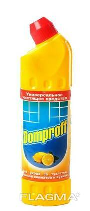 Чистящее ср-во д/сантехники Domproff 750мл, РФ/16 (аналог Domestos)