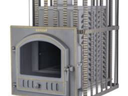 Чугунная печь для бани Технолит в сетке 25 (П)