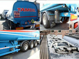 Цистерна Acerbi - fuel/benzin/diesel 41800 Ltr. 5x Kammer