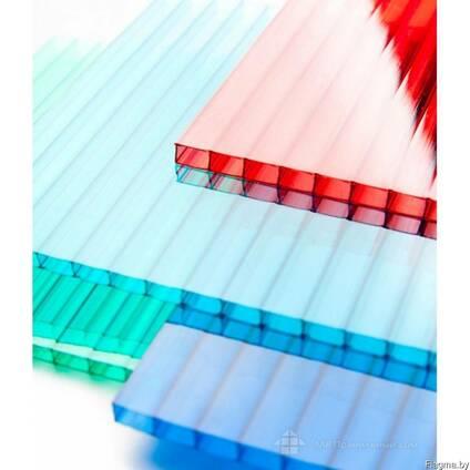 Цветной сотовый поликарбонат 3,8 мм
