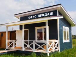 Дача дом баня 5х4м с террасой 5х2 м