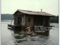 Понтонная площадка для вашей бани, домика на воде, и других целей