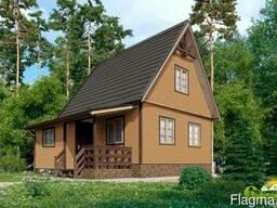 Дачный дом Восторг 3 - 58 м2