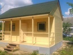 Дачный домик 3х4.5 1.2 терраса с фундаментом