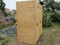 Дачный хозблок (бытовка) 2 в 1 деревянная «под ключ»
