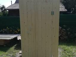 Дачный туалет из вагонки