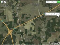 Дачный участок 11 соток. 24 км от МКАД.