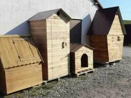 Дачный уличный деревянный туалет! Доставка Бесплатно!