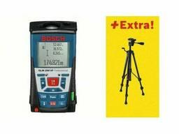 Дальномер лазерный Bosch GLM 250 VF + BS 150 в кор. (0.05 - 250 м, +/- 1 мм/м, IP 54. ..