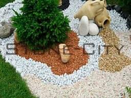 Декоративная мраморная крошка(щебень мраморный декоративный)