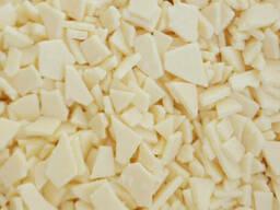 Декоративное драже осколки белые 100гр