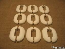 Декоративные накладки на опоры радиаторов из искусственного