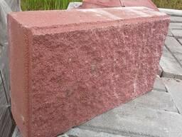 Демлер Камень полнотелый рваный 90 мм
