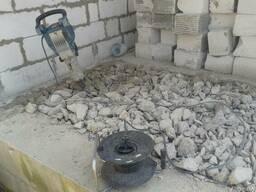 Демонтаж и разборка строительных конструкций
