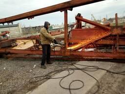 Демонтаж металлоконструкций