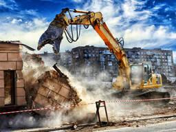 Демонтаж промышленных и частных объектов, недорого