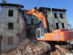 Демонтаж, снос зданий в г. Копыль