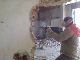 Демонтажные работы (снос стен, разборка полов) - Звоните