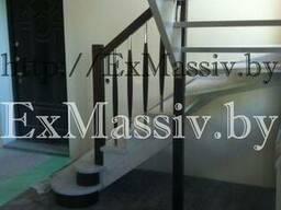 Деревянная лестница - фото 2