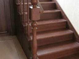 Деревянная лестница под заказ по всей РБ