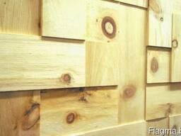 Деревянная плитка из амбарной доски