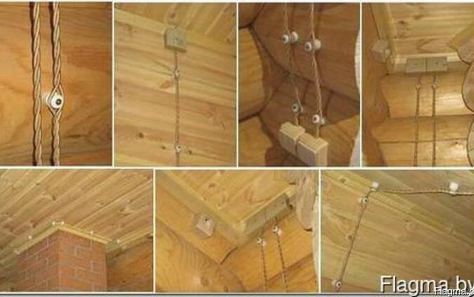 Деревянное домостроение (электрика)
