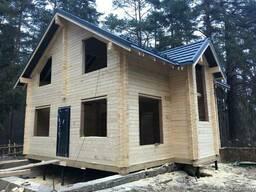 Деревянный дом под ключ, дом из бруса цена