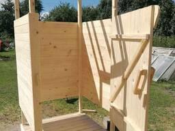 Деревянный душ, для дачи, деревни, строительства