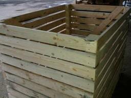 Деревянный контейнер для картофеля, капусты 1600*1200*1200 - фото 2