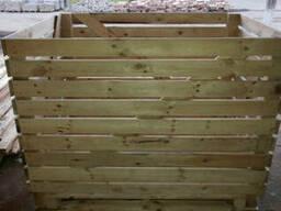 Деревянный контейнер для картофеля, капусты 1600*1200*1200 - фото 3