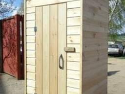 Деревянный туалет дачный! Садовый туалет! Туалет для дачи! - photo 2