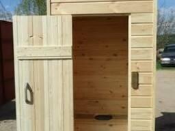 Деревянный туалет дачный! Садовый туалет! Туалет для дачи! - photo 3
