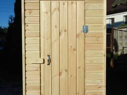 Деревянный туалет дачный! Садовый туалет! Туалет для дачи!