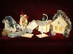 Деревянные коробочки, сувениры, топперы, таблички на заказ