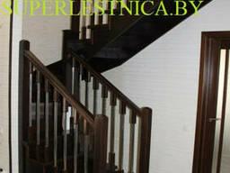Деревянные лестницы из березы К-003