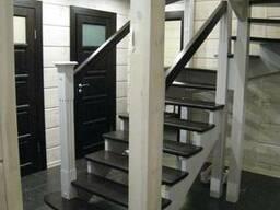 Деревянные лестницы под заказ в Минске