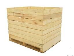 Деревянные ящики, контейнеры для хранения овощей
