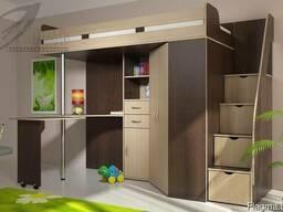 Детская кровать-чердак Мийа