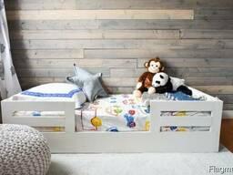 Детская односпальная кровать из массива Слима