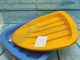 Детские салазки ледянки Нордпласт (38 43 6 см) Желтые