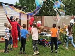 Детский Аниматор на праздник с Шоу Пузырей