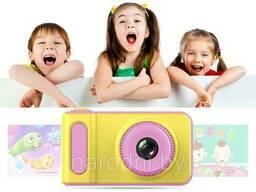 Детский цифровой фотоаппарат Kids Camera Summer Vacation. Фотоаппарат детский