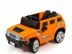 Детский электромобиль Electric Toys Hummer Lux (оранжевый)