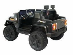 Детский электромобиль Electric Toys Jeep Wrangler Lux 4х4 (черный)