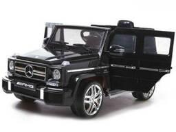 Детский электромобиль Electric Toys Mercedes G65 EVA Lux (черный)